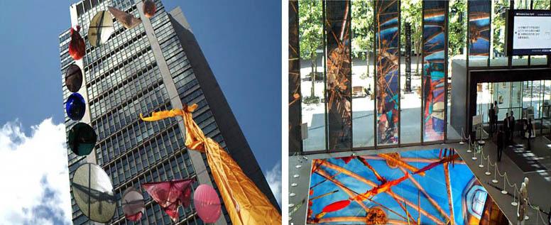 Floating Sistine Chapel in Tokyo