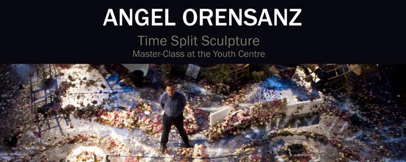 Angel Orensanz at Hermitage Museum in St. Petersburg